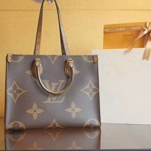 NWT Louis Vuitton Onthego Canvas Bag Brand New